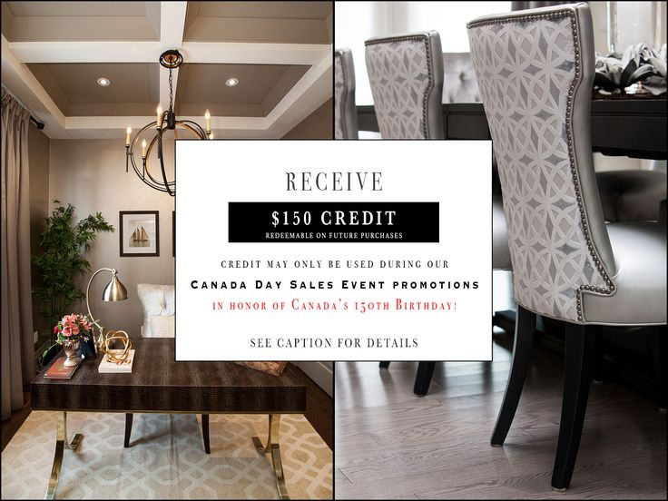 Visit our Instagram page @directinteriorsfurniture for more details about this contest! *** Promotional offers cannot be combined with any other existing offers. $150 credit is limited to one per family. Some exclusions apply. Taxes and delivery charges are applicable. ***
