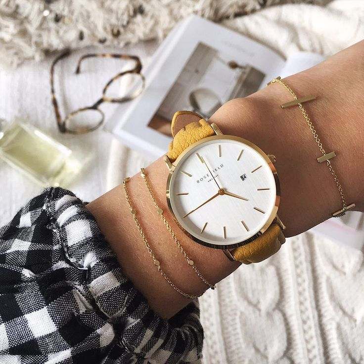 Rosefield watch The Fashion Editor from The September Issue collection in yellow See Instagram photos and videos from Style & Travel - Jenelle Witty (@inspiringwit)