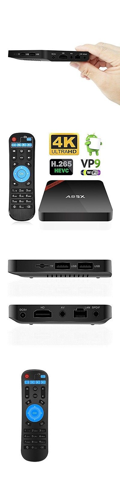Internet and Media Streamers: Android 6.0 Tv Box Quad Core Kodi 17.1 4K 18+ Movies Sport Wifi Spdif Ir Remote -> BUY IT NOW ONLY: $59.59 on eBay!