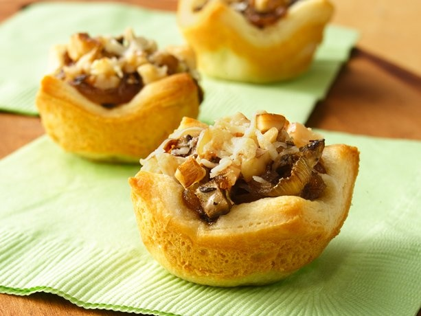 Caramelized Onion and Mushroom Tartlets. This recipe is listed under ...