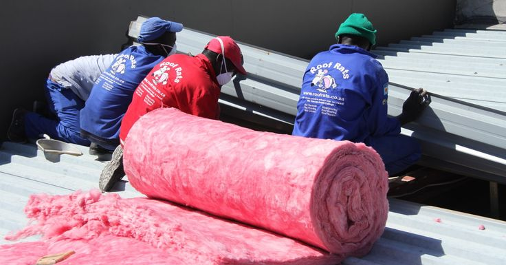 Getting Aerolite (Think Pink) into a flat roof
