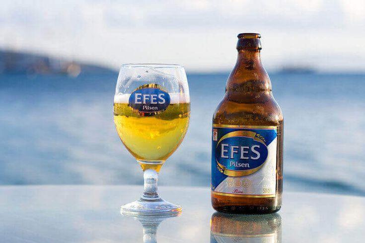 Turkey beer Efes