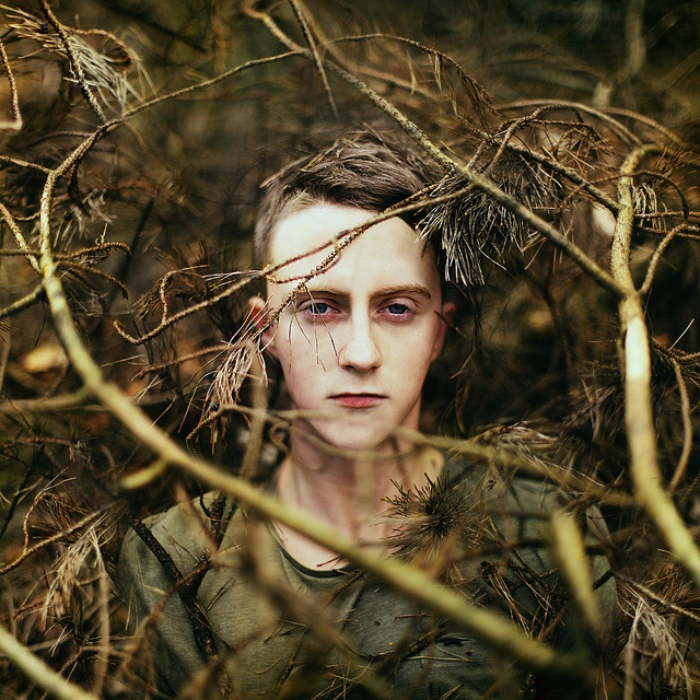 he was a boy from the wild woods and the trees bent over him like a mother…