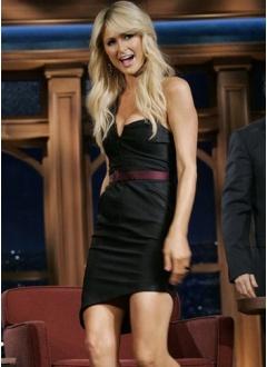 Paris Hilton style dress