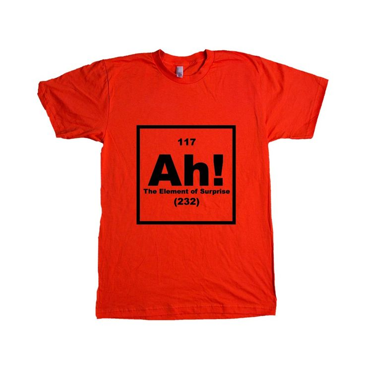 Periodic table periodic table puns periodic table of elements ah the element of surprise periodic table elements science school urtaz Images