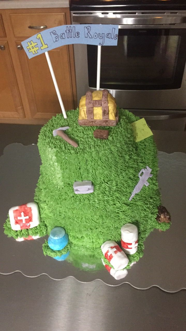 Awesome Fortnight Birthday Cake Great For Boyfriends Kids And