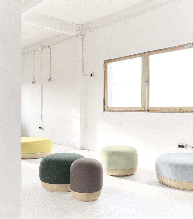 Inspiration Furniture Catalog: Poufs-Design-Iratzoki-Lizaso-Alki-Egon