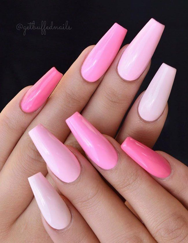 2019 Nail Trends: 30 Cool Long Coffin Nail Designs 2019
