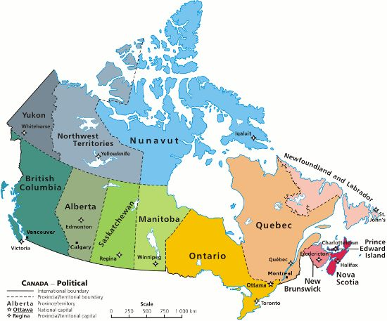 Interesting Facts About Canada :: Canada Facts