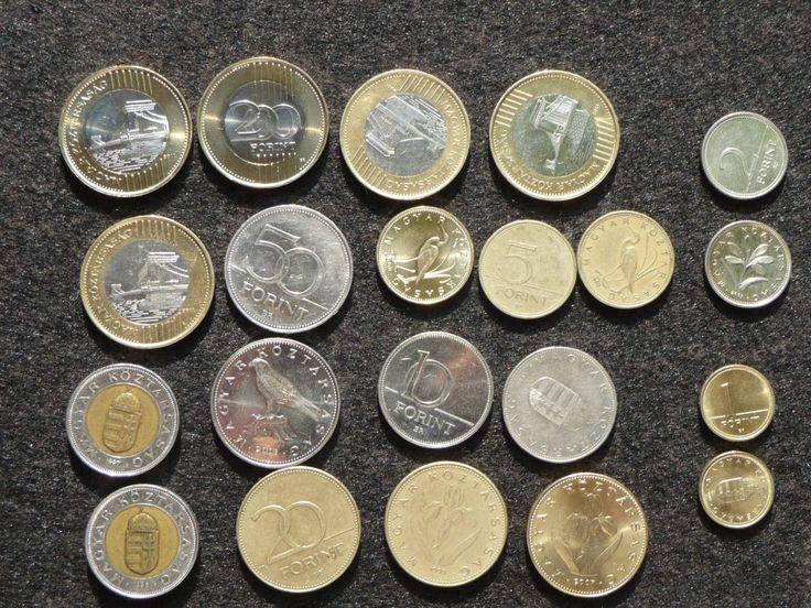 Forint-Münzen aus Ungarn