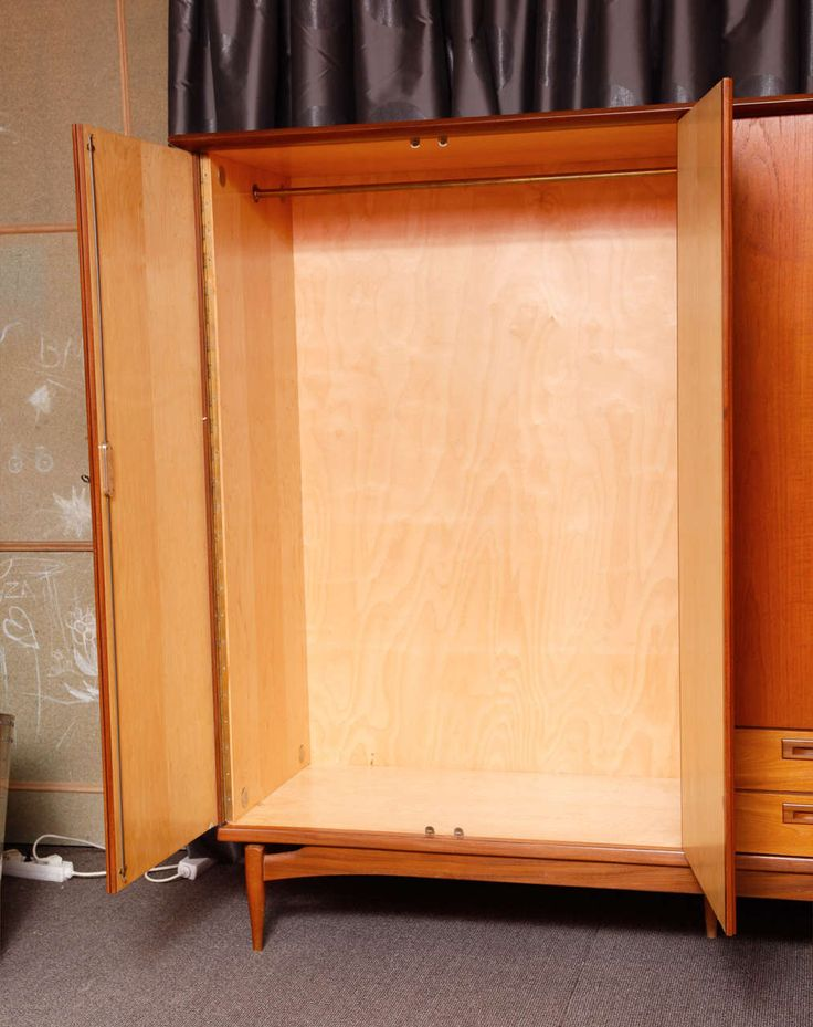 Scandinavian Origin Wardrobe | From a unique collection of antique and modern wardrobes and armoires at https://www.1stdibs.com/furniture/storage-case-pieces/wardrobes-armoires/