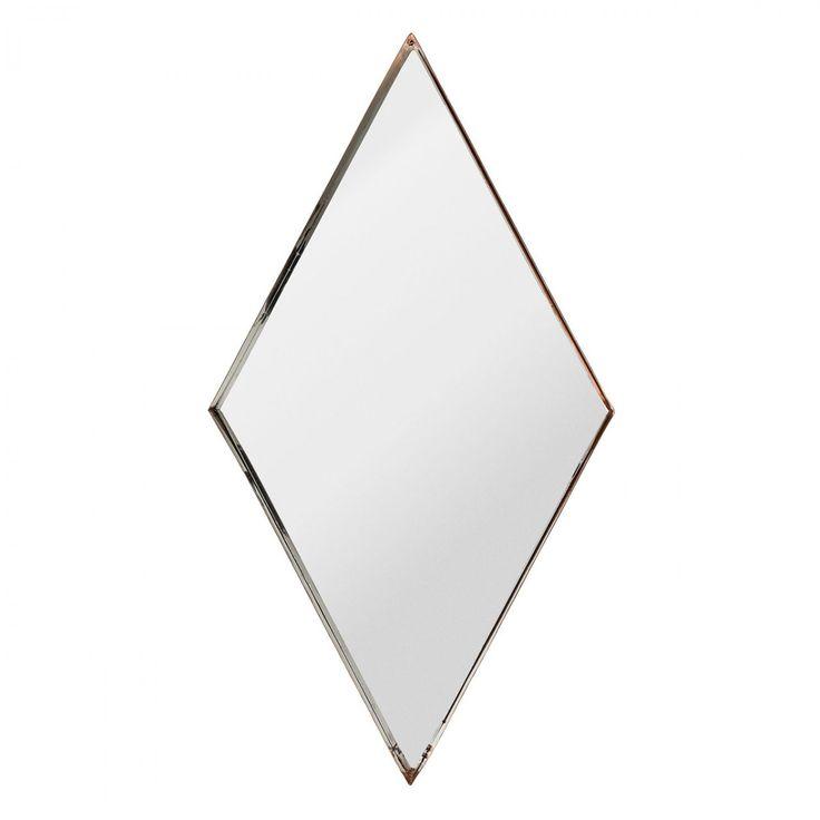 Bloomingville spiegel ruit koper