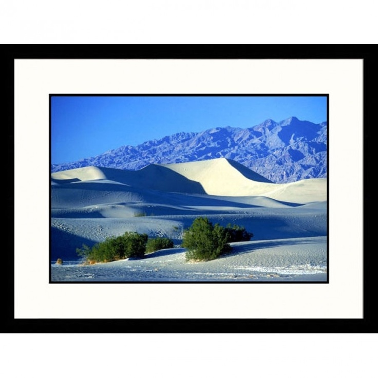 Great American Picture Sand Dunes Grapevine Mountains, Death Valley, California Framed Photograph -