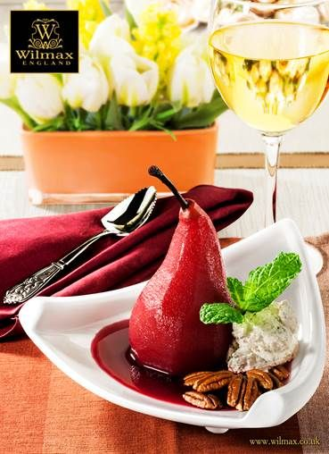 DESSERTS WITH WILMAX Wine Poached Pears