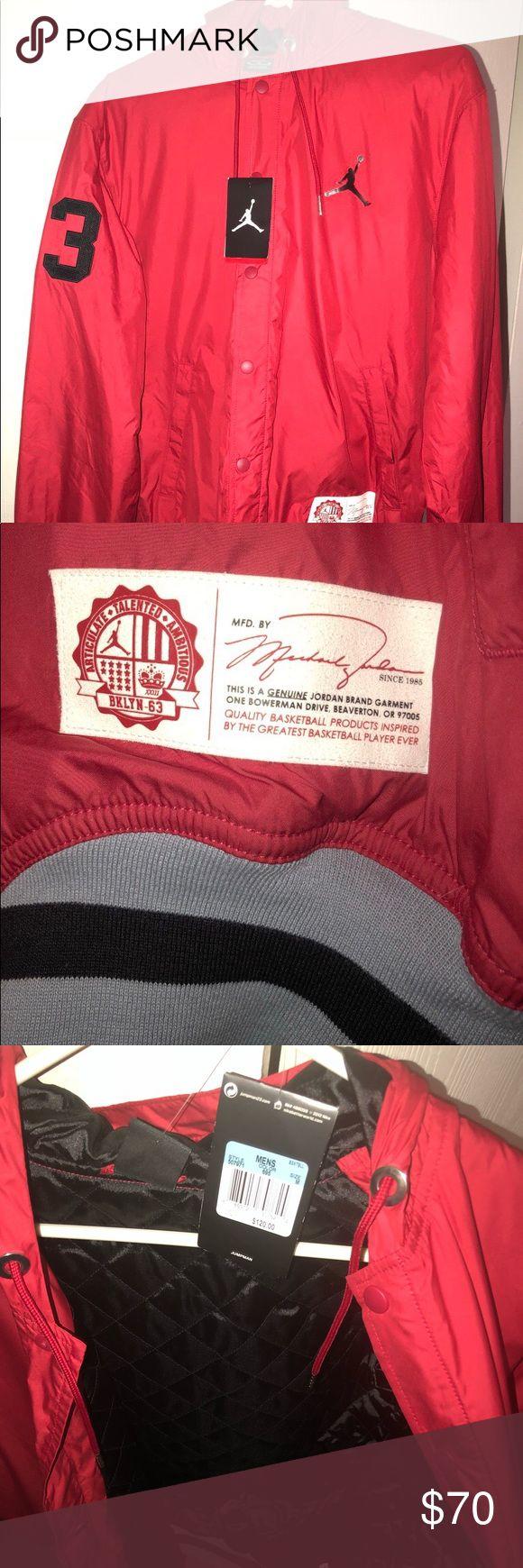 Jordan jacket size medium It cost me 120$ I want 70$ Jordan Jackets & Coats Utility Jackets