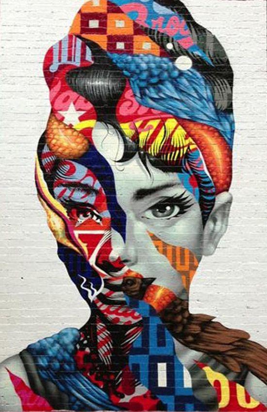Tristan Eaton Streetart by Roman Belov #wall #art #print #society6