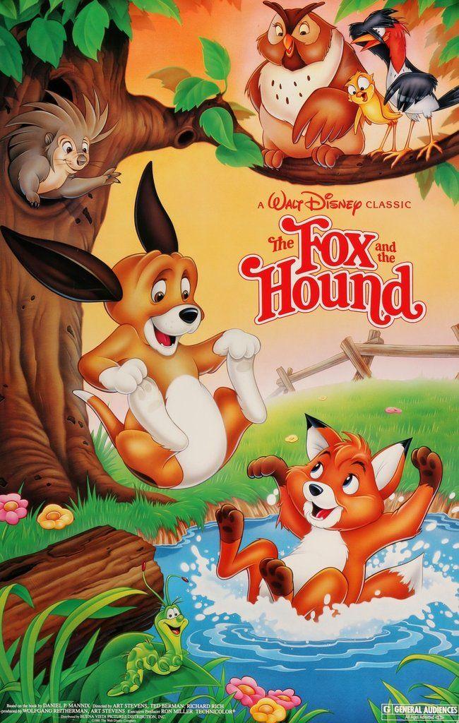 Fox and the Hound (1981) Original R1988 One-Sheet Movie Poster
