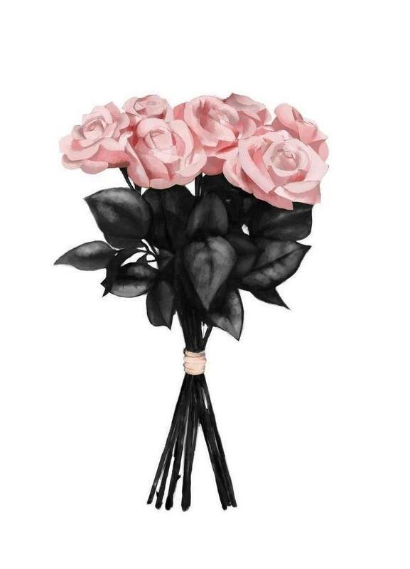 Pink Bouqet Leinwandbild Jetzt bestellen unter: mo…
