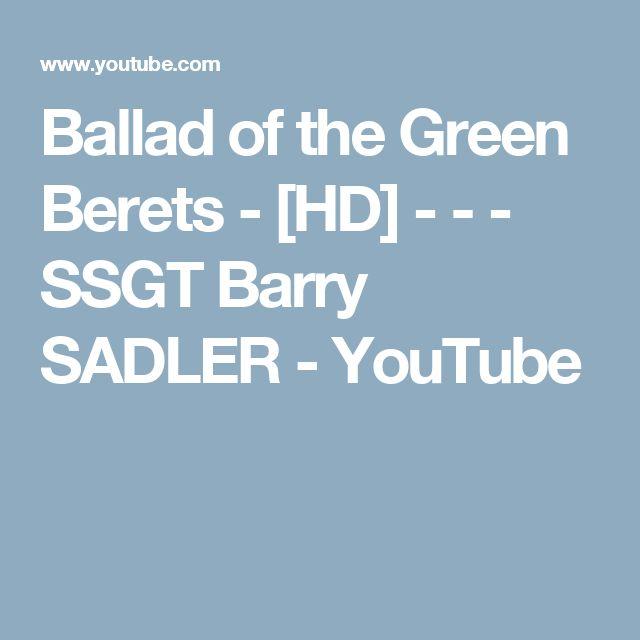 Ballad of the Green Berets - Wikipedia