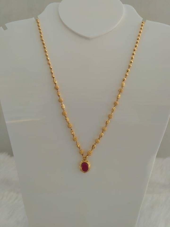Pin By Duggirala Radhika On Chains Gold Chain Design Gold Jewelry Simple Necklace Gold Jewelry Simple