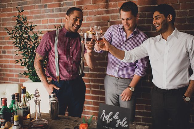 Brides: How to Throw a Co-Ed Wedding Shower