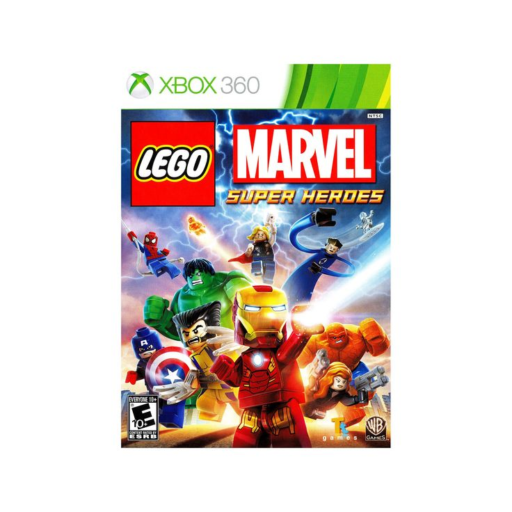 Lego Marvel Super Heroes Pre-Owned - Xbox 360