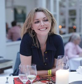 Sophie Dahl...she can cook AND write.