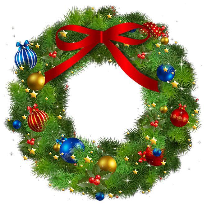 """""""Wieńce świąteczne"""" cliparty dekor.  Dyskusja na temat liveinternet - Rosyjski serwis internetowy Diaries"""