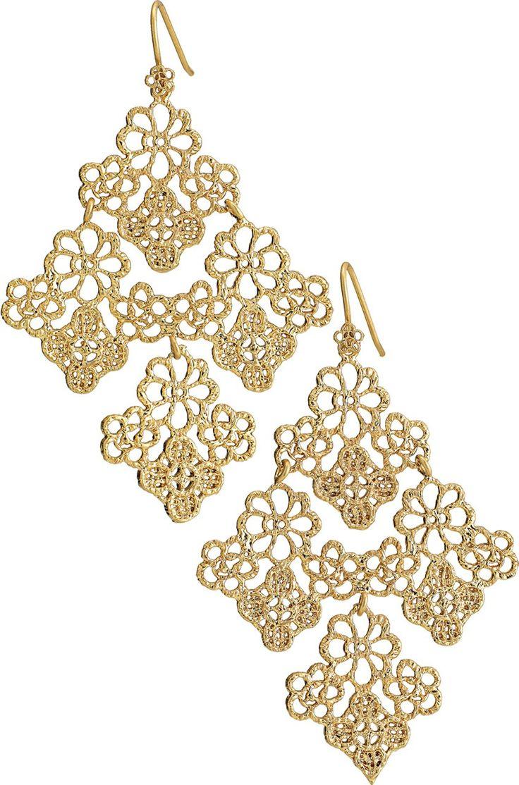 16 best Stella & Dot - Chantilly Lace Chandelier Earrings images ...
