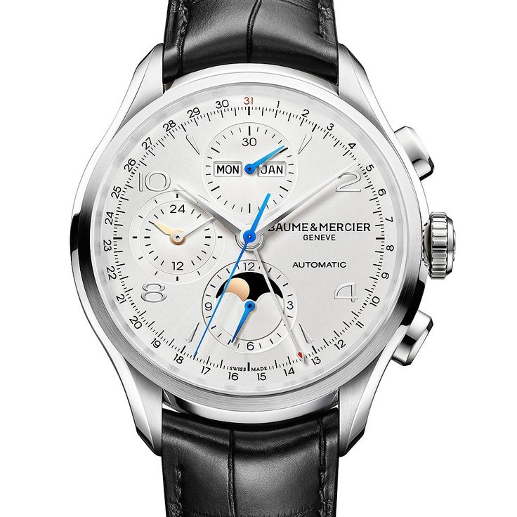 Baume & Mercier launched its Clifton collection of men's watches in 2013, and has been adding models to it in subsequent years. The Baume & Mercier Clifton Chronograph Complete Calendar, debuting at SIHH 2016, is the collection's most complicated watch to date, combining two functi