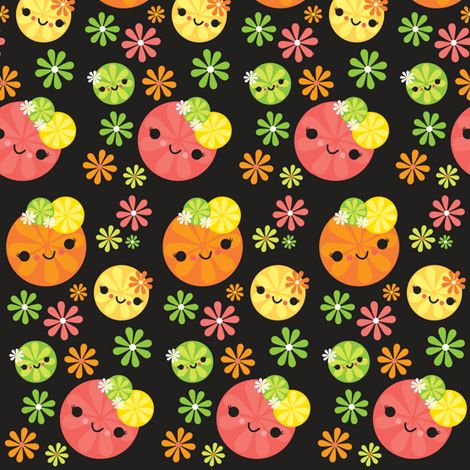 16 best images about kawaii fabric spoonflower more on pinterest donuts ocean fabric and. Black Bedroom Furniture Sets. Home Design Ideas