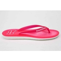 Beach athletics neon flip flop pink mr-shoes £21.99