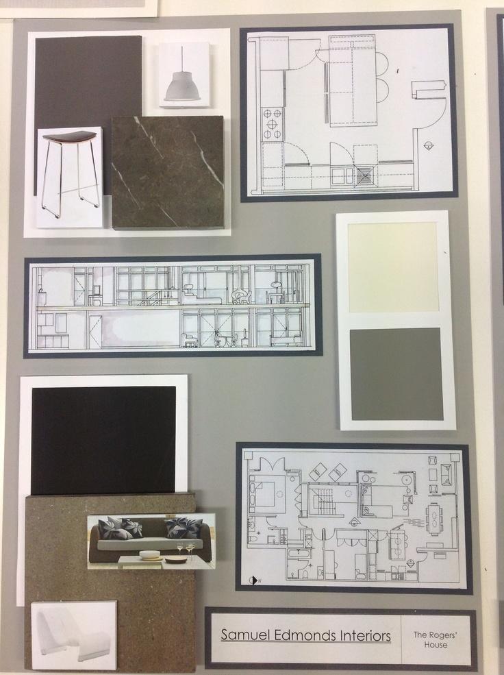 19 best sample boards images on pinterest interior - Interior design sample board software ...
