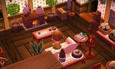 lionellecrossing: Working on my interior at 2am despite ... on Living Room Animal Crossing New Horizons  id=47682