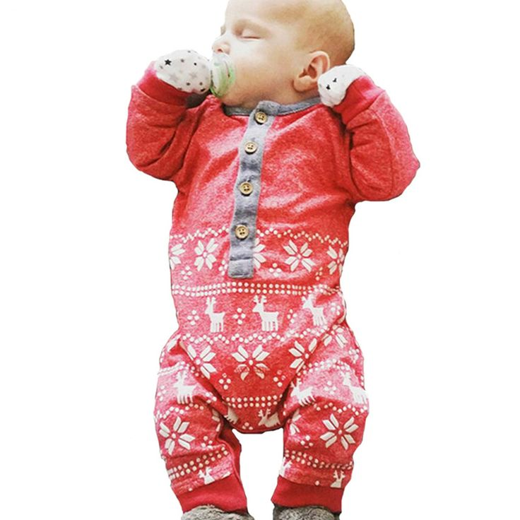 >> Click to Buy << 2017 New Spring Summer Cartoon Reindeer Baby Rompers High Quality Cotton Long Sleeve Jumpsuit O-neck Newborn 12M Bebek Tulum #Affiliate