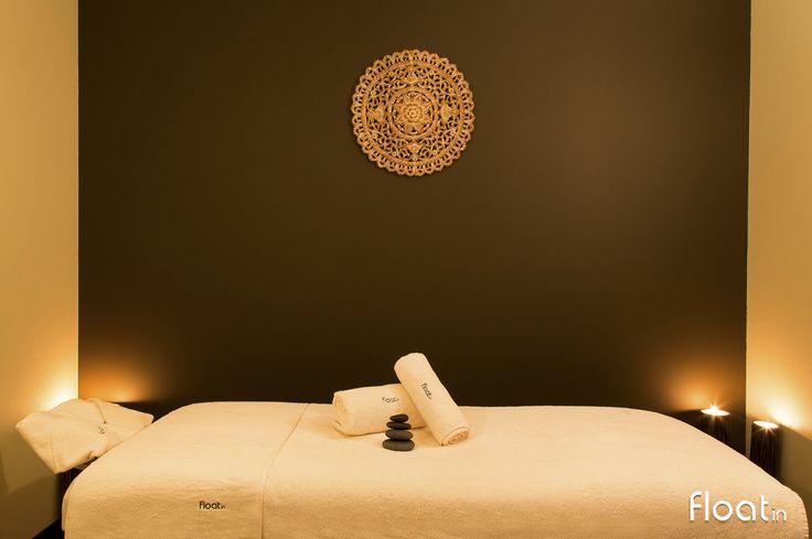 Sala Neroli - O Float in Massage Spa tem tudo pronto para a sua próxima massagem. Visite-nos em Belém. www.float-in.pt