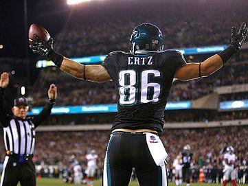 Eagles tight end Zach Ertz. (Matt Rourke/AP)