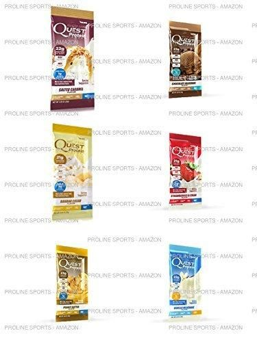 Quest Nutrition Quest Protein Powder Milkshake Single Serve Pouches Variety Pack 12 Count with Complementary Trial Endurolytes Fizz