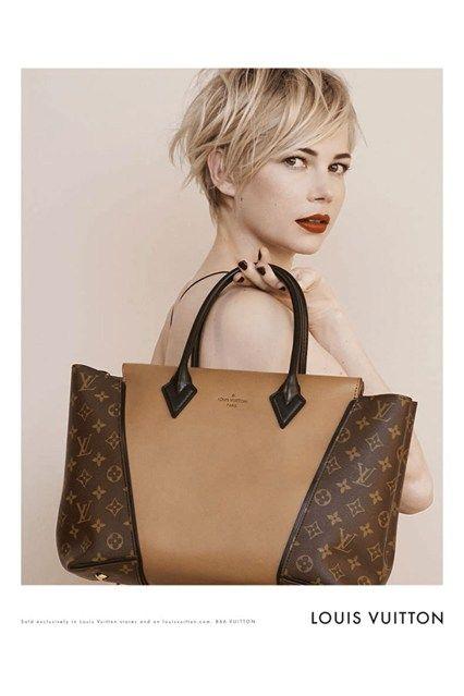 Michelle Williams Louis Vuitton Campaign Pictures