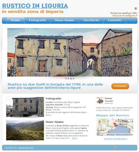 Ideazione e realizzazione mini-sito (Tema wordpress) web con studio e ridefinizione dell'identità visuale e grafica.http://www.tatoosa.it/vendita-rustico-in-liguria/