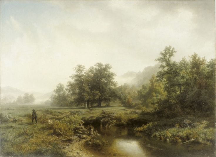 Werner Holmberg (1830–1860): Autumn Morning, 1856