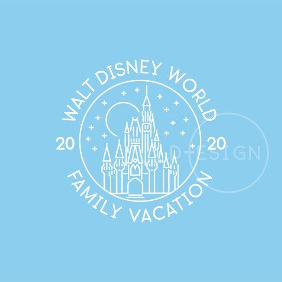 Disney World Magic Kingdom Family Vacation 2020 Svg Magic Kingdom Eps Magic Kingdom Png Files Disney World Magic Kingdom Magic Kingdom Disney World