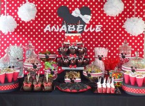 new Minnie mouse birthday party ideas – 4