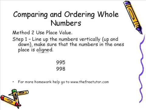 Whole Numbers (Grade 4)
