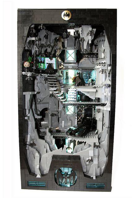 Lego Batman Batcave; Orion Pax