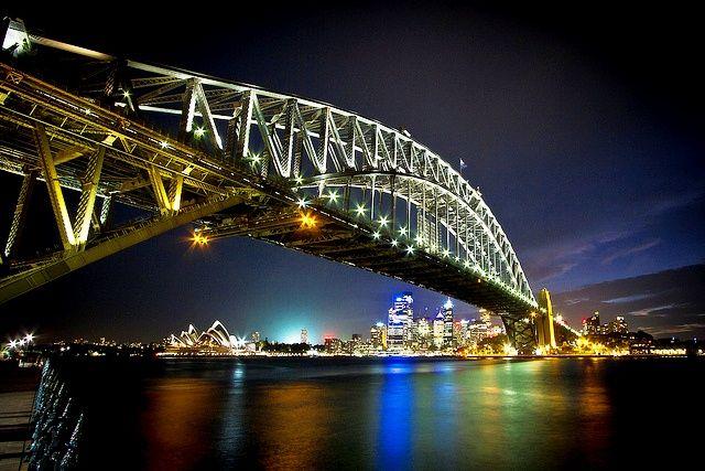 Sydney Harbour Bridge, Sidney (Austrália)