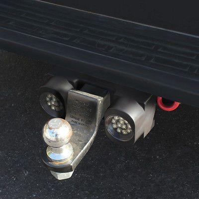 "Trailer/truck enganche de remolque 24 Super Brillante Blanco Luces Led Lámparas de 2 ""Receptor"