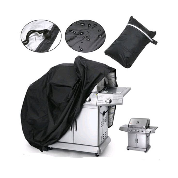 Large Size Outdoor BBQ Grill Covers Gas Heavy Duty for Home Patio Garden Storage Waterproof Barbecue Grill Cover BBQ Accessories