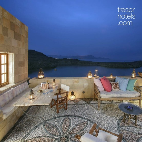 Rhodes Luxury Hotels True Greece Presents The Hotel Melenos Lindos In