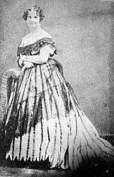 Catherine Daingerfield Willis Gray (17 Aug 1803, near Fredericksburg, VA - 6 August 1867, Tallahassee, FL) married 12 July 1826 to Achille Charles Louis Napoleon Murat, 1st Sovereign Prince of Pontecorvo, 2nd Prince Murat (21 Jan 1801 - 15 April 1847) son of Caroline Bonaparte, younger sister of Napoleon I, and Joachim Murat